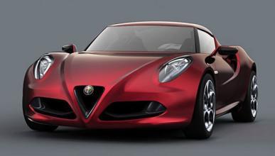 Cazan al nuevo Alfa Romeo 4C en movimiento