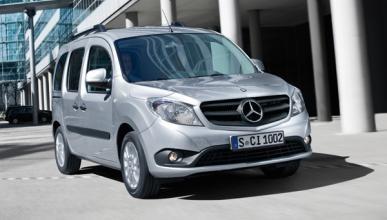 Mercedes Citan en movimiento