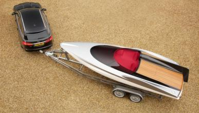 Jaguar se lanza al agua con el Jaguar Concept Speedboat