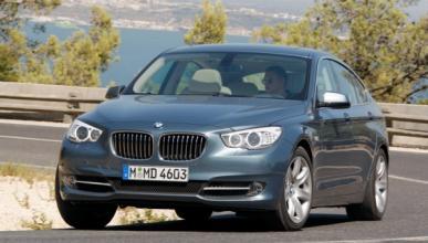 Cazan al nuevo BMW Serie 5 GT 2013