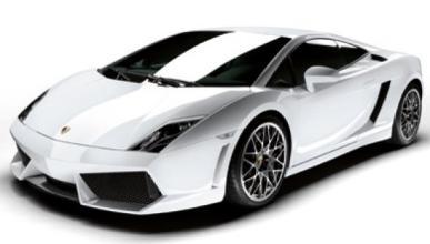 El intimidante Lamborghini Gallardo de la Policía italiana