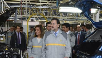 """El sector automovilístico, una """"prioridad"""" para Rajoy"""