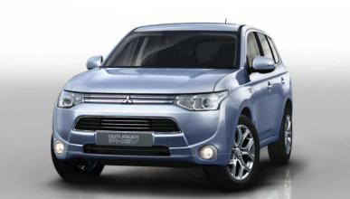 Mitsubishi Outlander híbrido enchufable, ya a la venta
