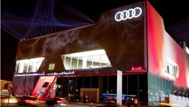 Audi inaugura su mayor concesionario en Dubai