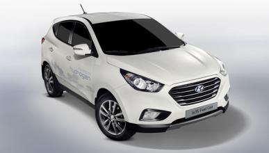 Hyundai ix35 Fuel Cell frontal