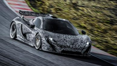 McLaren P1 Concept pruebas