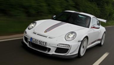 Aparece en Alemania un Porsche 911 GT3 RS 4.0 desguazado