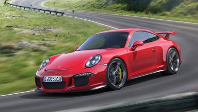 Porsche 911 GT3 2013 dinamica frontal