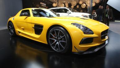 Cazado el nuevo Mercedes SLS AMG