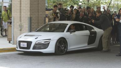 El Audi R8 e-tron, coche de Iron Man 3
