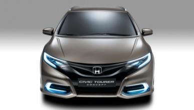 Honda Civic Tourer 2014: fotos espía