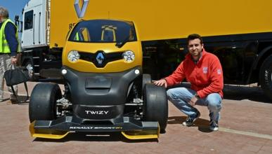 Renault Twizy Renault Sport F1 frontal Valladolid