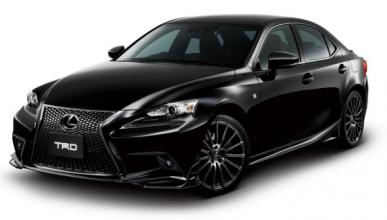 Lexus IS F Sport 2014 TRD frontal