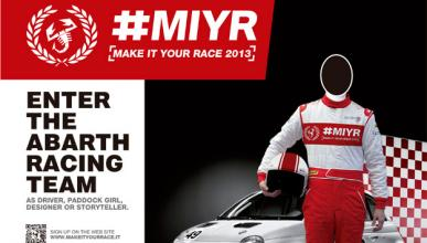 Abarth Make It Your Race 2013 busca