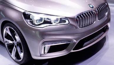 Cazan a un BMW Serie 1 GT con siete plazas