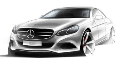 Un extraño boceto de Mercedes: ¿el futuro Clase E?
