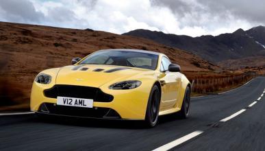 Aston Martin V12 Vantage S motor