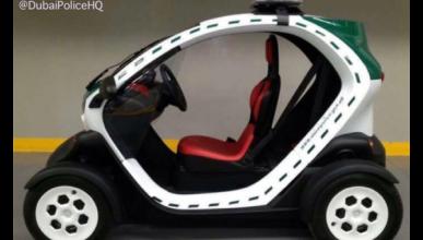 Un Renault Twizy para la Policía de Dubai
