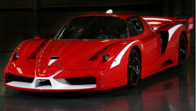 Ferrari FXX Delantera Izquierda