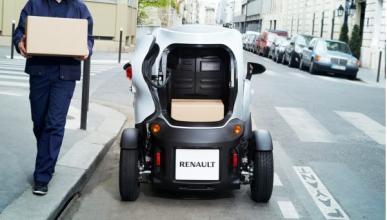 Renault Twizy Cargo trasera