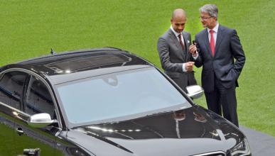Audi S8 Guardiola y Rupert Stadler