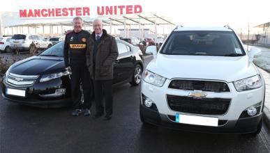 Se subasta el Chevrolet Captiva de Sir Alex Ferguson