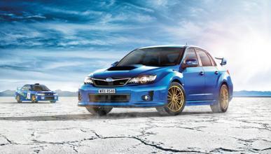 Subaru WRX RS40: solo disponible para Australia