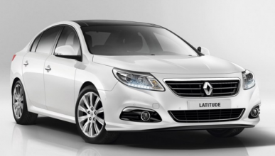 Renault Latitude 2014 frontal