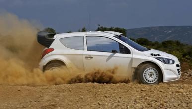 Testt del Hyundai i20 WRC 2014 en tierra 1
