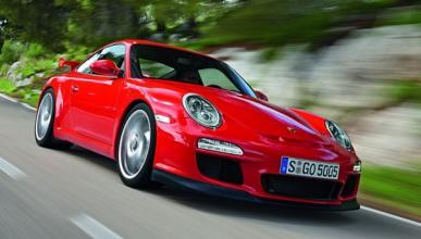 Accidente de un Porsche 911 GT3 en una prueba de conducción