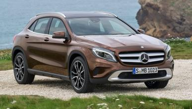 Nuevo Mercedes GLA frontal