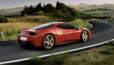 Aparatoso accidente de un Ferrari 458 Italia en Israel