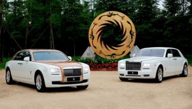 Rolls Royce Ghost Golden Sunbird: versión única