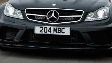 Mercedes C 63 AMG 2015, ¡cazado!