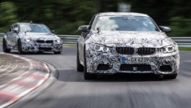Un BMW M3 2014 se estrella en Nürburgring