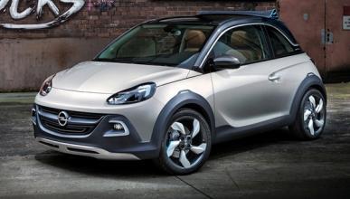 Opel fabricará un mini SUV basado en el Adam Rocks