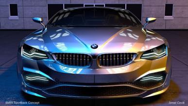BMW Sportback Concept frontal