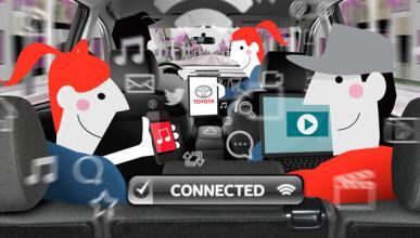 Toyota ofrece Wi-Fi en todos sus coches