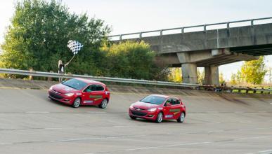 El Opel Astra consigue un récord de conducción en 24 horas