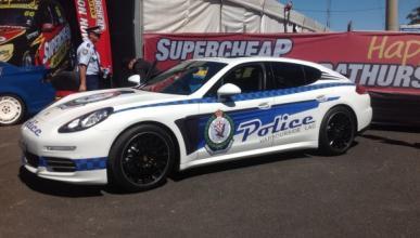 Porsche Panamera 4S, nuevo coche de la Policía australiana