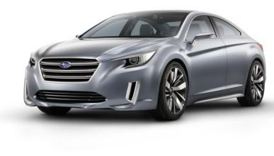Subaru Legacy Concept, en el Salón de los Ángeles 2013