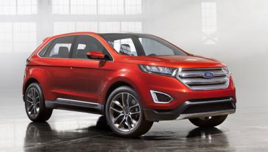 Ford Concept Edge go further barcelona frontal