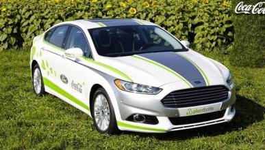 Ford Fusion Energi: con tecnología de botellas de Coca-Cola