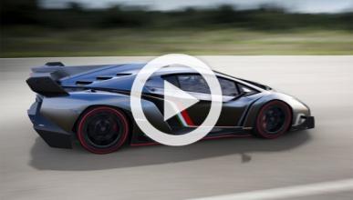 Lamborghini Veneno, cazado en el Circuito de Vallelunga