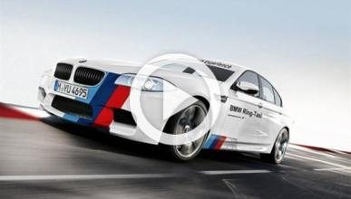 Una vuelta en el BMW M5 Taxi Ring
