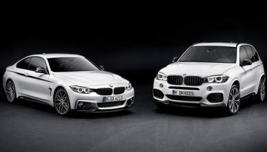 BMW X5 paquete 'M Performance' con el Serie 4