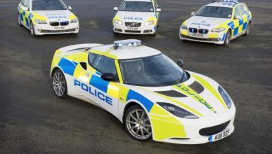 La Policía británica estrena un Lotus Evora