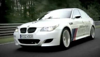 El BMW M5 Ring Taxi sufre un accidente en Nürburgring