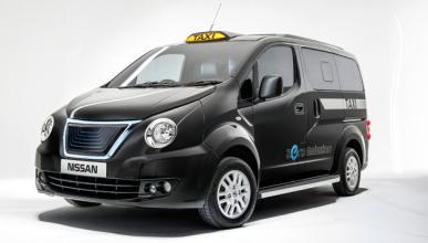 Nissan e-NV200 London Taxi delantera