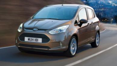 El nuevo Ford B-Max, ¡pillado!